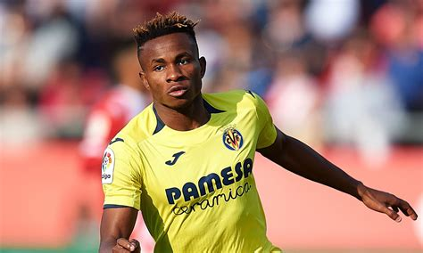 Villarreal winger samuel chukwueze insists his team are not scared of coming up against arsenal in the europa league. Samuel Chukwueze Now Elevated To Wear Villarreal's Iconic No.11 Jersey   Megasports