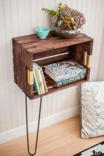 disposition des meubles dans une chambre faire un meuble tendance avec une caisse en bois