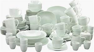 Service Porzellan Weiß : creatable kombiservice porzellan 100 teile square online kaufen otto ~ Markanthonyermac.com Haus und Dekorationen