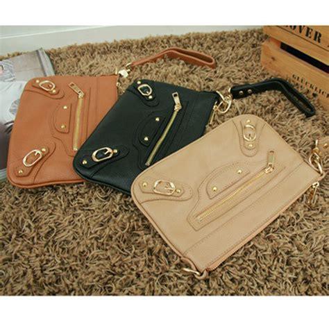 leather handbag shoulder women bag brown black tote purse
