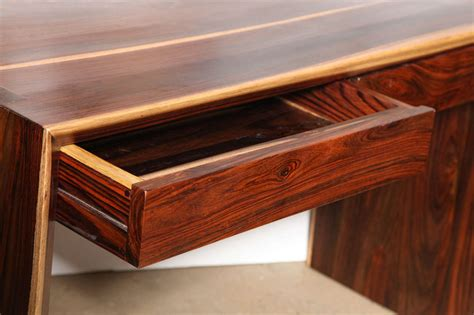 parsons style furniture craft revival cocobolo desk at 1stdibs