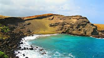 Papakolea Green Sand Beach Hawaii