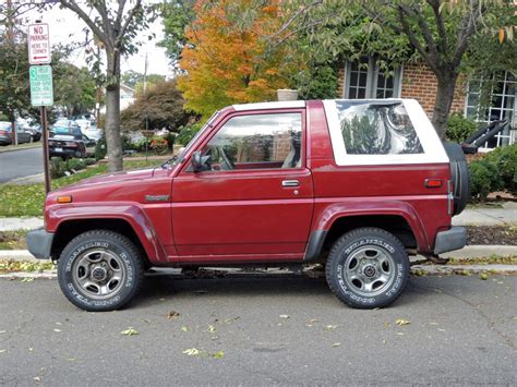 1990 Daihatsu Rocky by Curbside Classic 1990 Daihatsu Rocky Se Technical Knockout