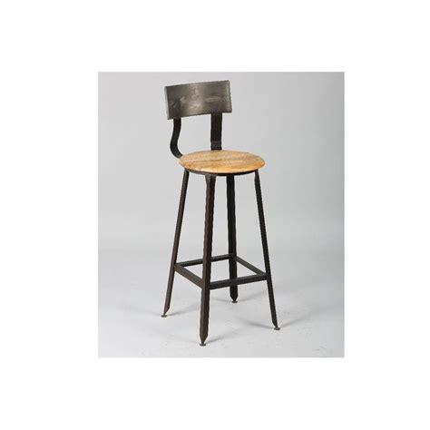 table et chaise restaurant chaises de bar tables et chaises chaise de bar olympe en acier vieilli inside75