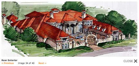 mansions   square foot mediterranean  floor plans
