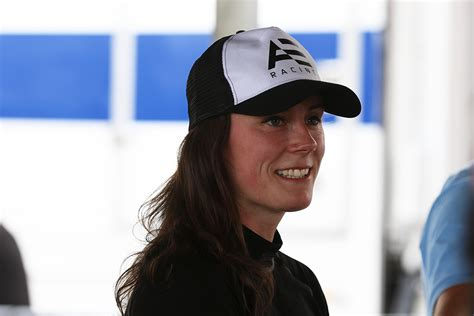 abbie eaton completes adelaide super field supercars