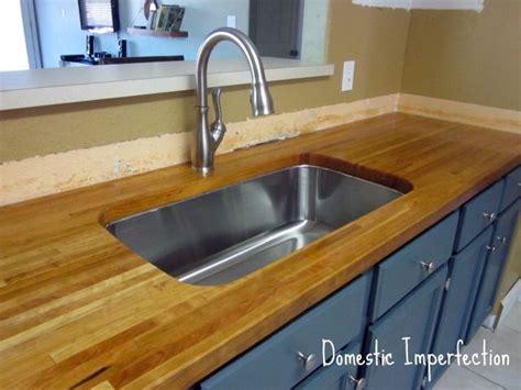 diy butcher block countertop kitchen dining spaces