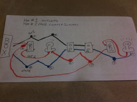 need help using 12 3 to do 2 runs in 1 cable electrical diy chatroom home improvement forum