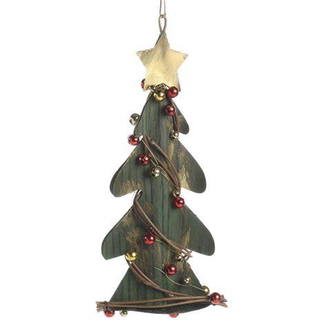 rustic christmas tree ornament signs ornaments home decor