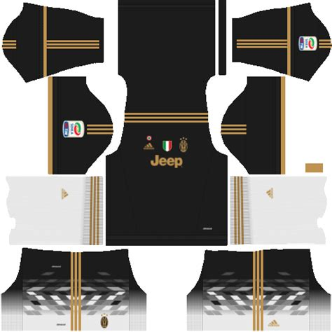 Dream League Soccer Juventus Kits and Logos 2018, 2019 - [512X512]