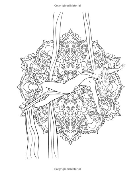 Amazon.com: Aerial Silks Coloring Book: A Collective Display of Aerial Silk Positions (Volume 1