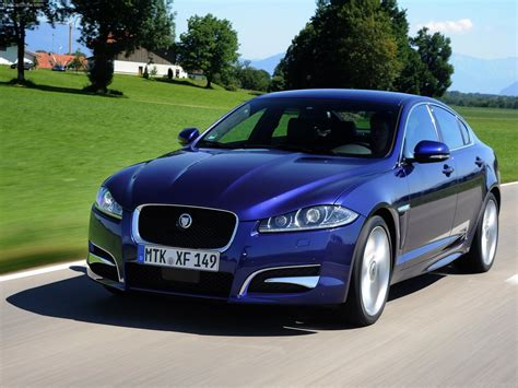 Blue Cars Jaguar Xf Wallpaper  1600x1200 193426