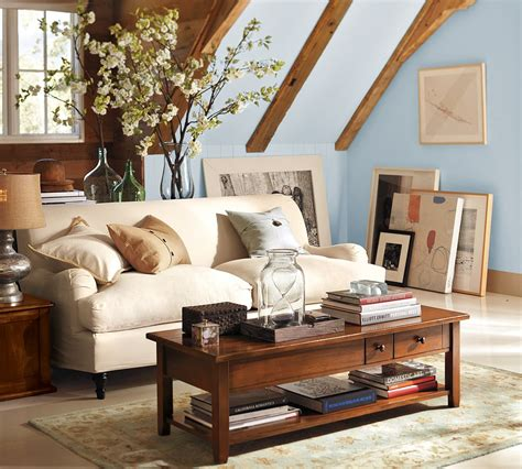 Living Room Wall Decor Pottery Barn by Pottery Barn Rooms A Creative