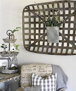 31, Pretty, Ways, To, Decorate, Your, Home, With, Rustic, Baskets