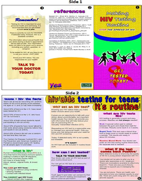Aids Brochure Template by Hiv Aids Brochure Templates Csoforum Info