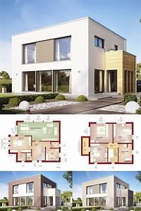 Modernes Haus Grundriss : designhaus mit flachdach haus evolution 154 v9 bien ~ Lizthompson.info Haus und Dekorationen