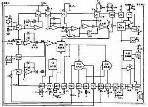 Hands-free Phone Chip Circuit Diagram
