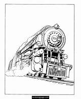 Train Coloring Steam Engine Ausmalbilder Eisenbahn Printable Locomotive James Sheets Malvorlagen Trains Scotsman Flying Drawing Railroad Template Books Konabeun Freight sketch template