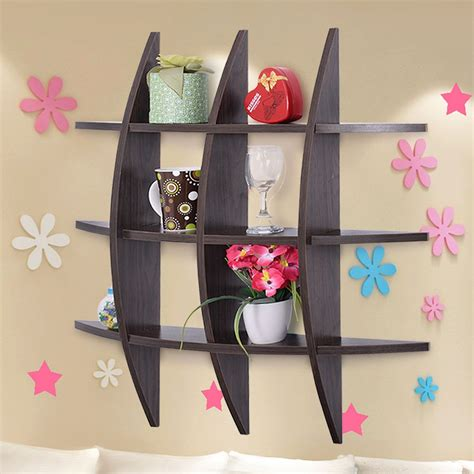 Wood Wall Shelves by 15 Collection Of Wall Shelves Shelf Ideas