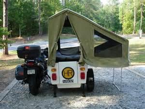 Motorcycle Sidecar Camper