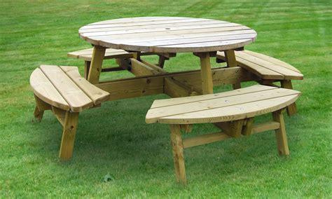 picnic table caloo
