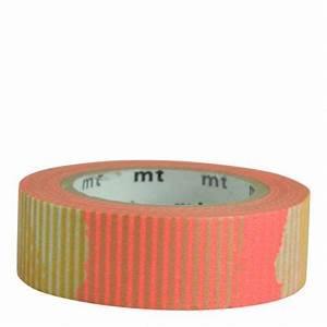 Masking Tape Doré : masking tape motifs orange fluo et dor masking tape ~ Teatrodelosmanantiales.com Idées de Décoration