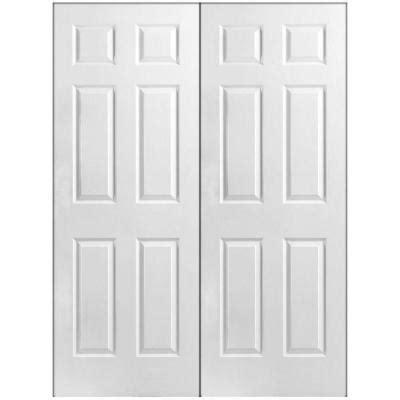 home depot prehung interior doors masonite textured 6 panel hollow primed composite