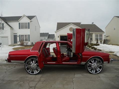 Dope Box Chevy Butterfly Doors