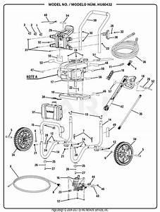 32 Husky Pressure Washer Wand Diagram