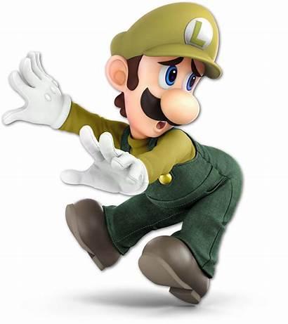 Luigi Smash Bros Ultimate Alternate Costumes Brawlin