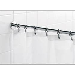 croydex luxury shower curtain rail wickes co uk