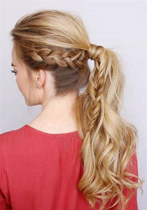 trendy long wedding prom hairstyles