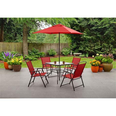 patio table umbrella walmart mainstays heritage park quot x bistro table walmart patio