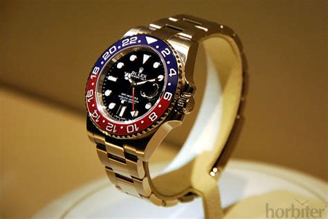 Baselworld 2014 on the go - ROLEX GMT Master Pepsi II ...