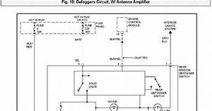 Defoggers Circuit With Antenna Amplifier Wiring Diagram Of