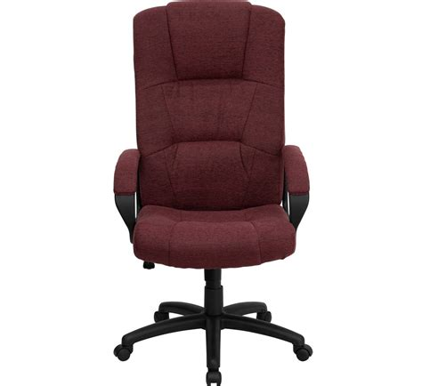 high back burgundy fabric executive office chair bt 9022 by gg