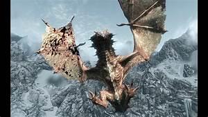 Skyrim - Revered Dragon - HP 13,920+ - YouTube