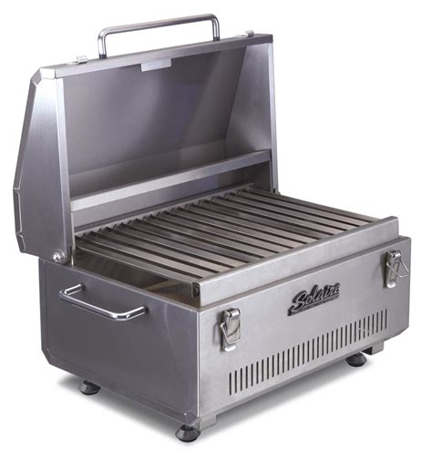 infrared grills sol ir17b solaire anywhere portable infrared grill with fewer flare ups
