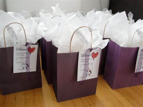 Diy Welcome Bags For Out Of Town Guests In 2019 Wedding