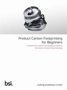 Bsi Sustainability Guide Product Carbon Footprinting For