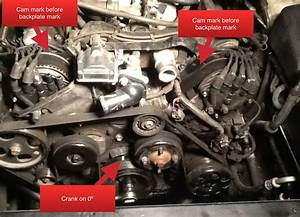 1996 Ls400 Timing Belt Replacement In Progress Images