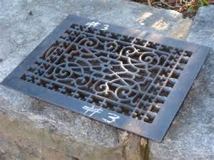 cast iron floor grate no 3