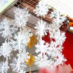 aliexpress com buy 30pcs lot snowflake christmas ornaments wedding favor birthday party theme