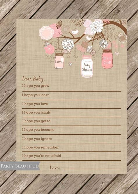 dear baby  wishes  baby girl instant  pink