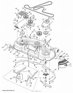 Husqvarna Lgt2654 Drive Belt Diagram