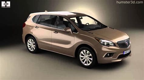 Show All Buick Models by Buick Envision 2015 By 3d Model Store Humster3d