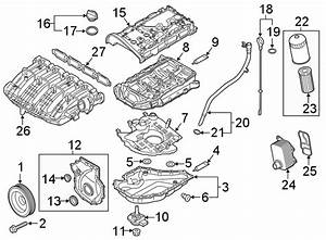 2020 Volkswagen Passat Oil  Pan  Gasket  Engine  Ring