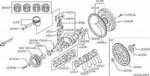 Nissan Stanza Engine Connecting Rod Bolt  Crankshaft