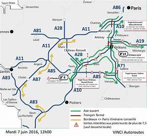 Trajet Paris Bordeaux : l 39 a10 au dessus d 39 orl ans toujours coup e ce mercredi ~ Maxctalentgroup.com Avis de Voitures