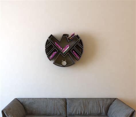 walls  love  superhero  book shelf ideas